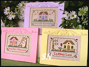 Summer Retreats from Country Cottage Needleworks - click to see more