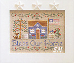 Bless Our Home from Country Cottage Needleworks - click to see more