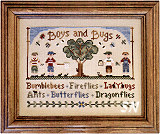 Boys and Bugs from Country Cottage Needleworks - click to see more