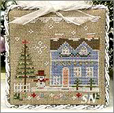Glitter Village Series #9 from Country Cottage Needleworks -- click to see more