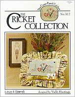 312 Love & Carrots Leaflet from Cross Eyed Cricket - click for more