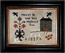 Haunted Hill from Cherished Stitches - click to see more