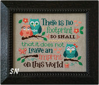 Leave an Imprint from Cherry Hill Stitchery - click to see more