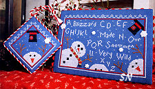 Wild Snowmen from Cherrywood Studio - click to see more
