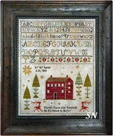 Peace and Goodwill Sampler from Chessie & Me