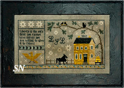 Chessie & Me Gettysburg 1862 Sampler -- click to see more