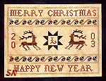 Merry Christmas Sampler by Chessie & Me -- click to see a the rest