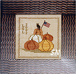 Patriotic Pumpkins from Chessie & Me - click for more