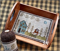 Piney Woods Tray & Pyn Keep from Chessie & Me
