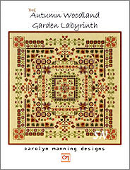 Autumn Woodland Garden Labyrinth from Carolyn Manning Designs - click to see more