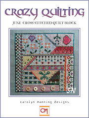 June  Crazy Quilting Chart from Carolyn Manning Designs - click to see more