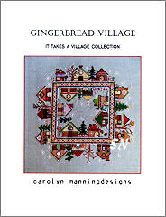 Gingerbread Village from Carolyn Manning - click for more