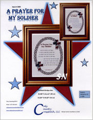 A Prayer for My Soldier from Cody Country Crossstitch - click to see more
