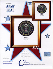 Army Seal from Cody Country Crossstitch - click to see more