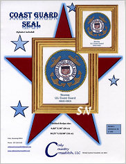 Coast Guard Seal from Cody Country Crossstitch - click to see more