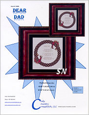 Dear Dad from Cody Country Crossstitch - click to see more