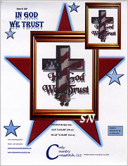In God We Trust from Cody Country Crossstitch - click to see more