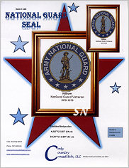 National Guard Seal from Cody Country Crossstitch - click to see more