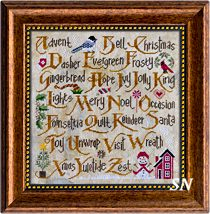 Christmas Sampler II from Cottage Garden Samplings - click to see more