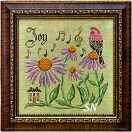 Songbird #10 Sing for Joy from Cottage Garden Samplings - click to see more