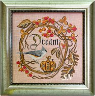 Songbird #11 Autumn Dream from Cottage Garden Samplings - click to see more
