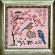 Songbird #5 Bluebird of Happiness from Cottage Garden Samplings - click to see more