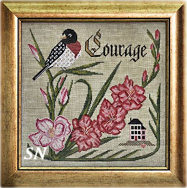 Songbird #8 Have Courage from Cottage Garden Samplings - click to see more