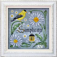 Songbird #9 Beauty in Simplicity from Cottage Garden Samplings - click to see more