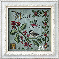 Songbird #2 Merry & Bright from Cottage Garden Samplings - click to see more