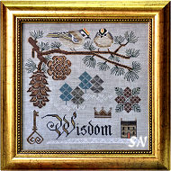 Songbird #3 Winter's Wisdom from Cottage Garden Samplings - click to see more