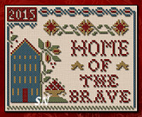 Home of the Brave from Little House Needleworks and Classic Colorworks -- click to see more