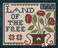 Land of the Free from Little House Needleworks and Classic Colorworks -- click to see lots more