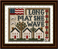 Long May She Wave from Classic Colorworks - click for more