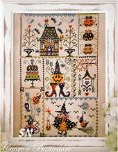 Halloween in Quilt from Cuore e Batticuore - click for more
