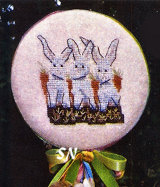 Three Bunnies Pick from Dames of the Needle - click for more