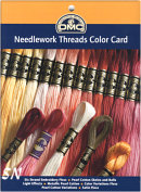 Needlework Threads Color Card from DMC - click to see more