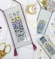 Cottage Garden Scissor Case from The Drawn Thread - click to see more