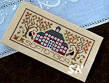 September Pocket Calendar Cover from The Drawn Thread - click to see more