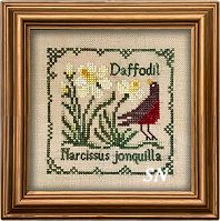 Botanical Stitches - Daffodils from The Drawn Thread -- click to see more
