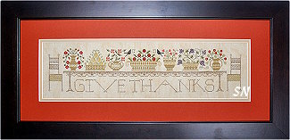 Give Thanks from The Drawn Thread -- click to see more