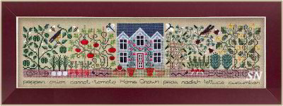 The Kitchen Garden from The Drawn Thread -- click to see more