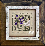 Sweet Violet from The Drawn Thread -- click to see more