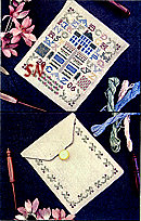 English Garden Pocket by Drawn Thread -- click to see a larger view