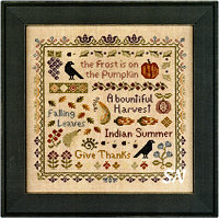 Antique Autumn Sampler from Elizabeth's Designs - click to see more