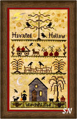 Haunted Hollow from Elizabeth's Designs - click to see more