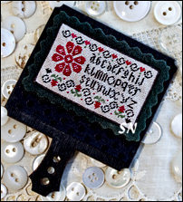 Red Posey Sampler from Erica Michaels - click for more