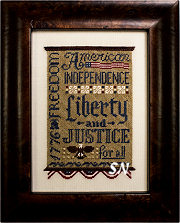 Liberty & Justice from Erica Michaels - click for more