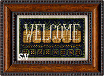 Sign of Welcome from Erica Michaels - click for more