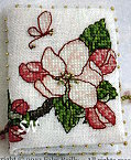 Faby Reilly Apple Blossom Needlebook - click to see more