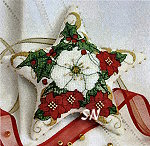 Faby Reilly Designs Christmas Rose Star - click to see more